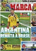 Portada diario Marca del 10 de Julio de 2014