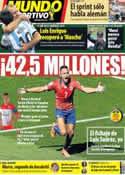 Portada Mundo Deportivo del 11 de Julio de 2014
