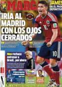 Portada diario Marca del 12 de Julio de 2014