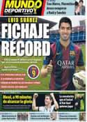 Portada Mundo Deportivo del 12 de Julio de 2014