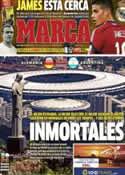 Portada diario Marca del 13 de Julio de 2014