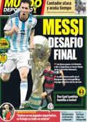 Portada Mundo Deportivo del 13 de Julio de 2014
