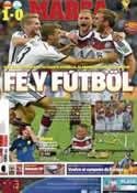 Portada diario Marca del 14 de Julio de 2014