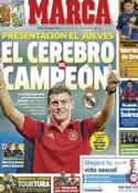 Portada diario Marca del 15 de Julio de 2014