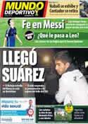 Portada Mundo Deportivo del 15 de Julio de 2014