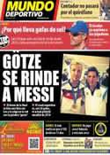 Portada Mundo Deportivo del 16 de Julio de 2014
