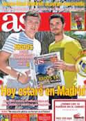 Portada diario AS del 17 de Julio de 2014
