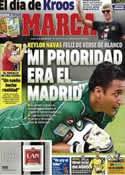 Portada diario Marca del 17 de Julio de 2014