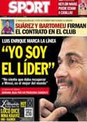 Portada diario Sport del 17 de Julio de 2014