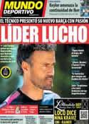 Portada Mundo Deportivo del 17 de Julio de 2014