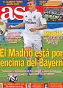 Portada diario AS del 18 de Julio de 2014