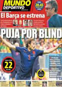 Portada Mundo Deportivo del 19 de Julio de 2014