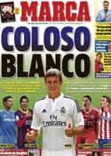 Portada diario Marca del 20 de Julio de 2014