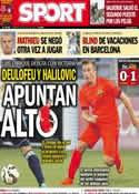 Portada diario Sport del 20 de Julio de 2014