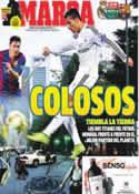 Portada diario Marca del 25 de Octubre de 2014
