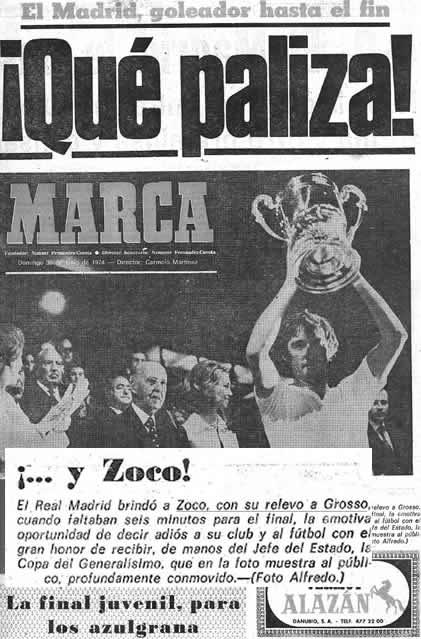 Portada Marca 30/06/1974